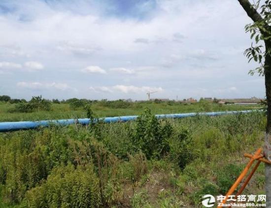河南郑州107国道旁工业用地500亩 交通便利 可分割