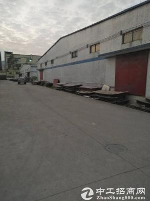 独门独院钢构厂房2800平米 成熟工业园原房东可以分租层高7