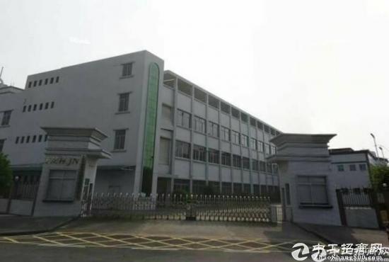 东莞厚街镇独门独院7920平标准厂房 可分租
