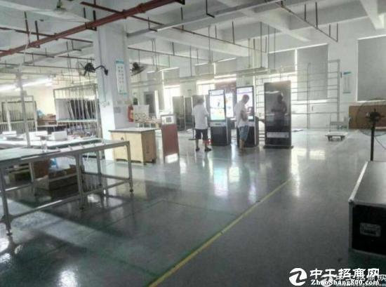 厚街镇新塘广场周边楼上3000平带装修标准厂房消防齐全