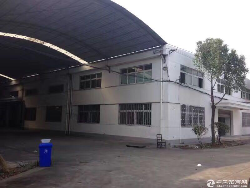 松江车墩独院绿证50年全单层7米104生产仓储出售