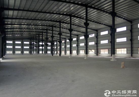 园洲上南单一层钢构厂房1500平8米高低价招租