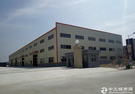 园洲上南单一层钢构厂房1500平8米高低价招租-图2
