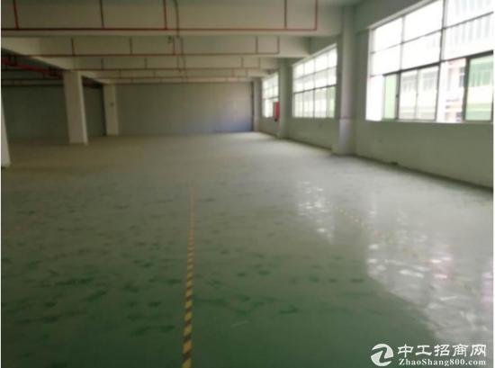 [坪山厂房]坪山 田头新出楼上800平带装修厂房急租