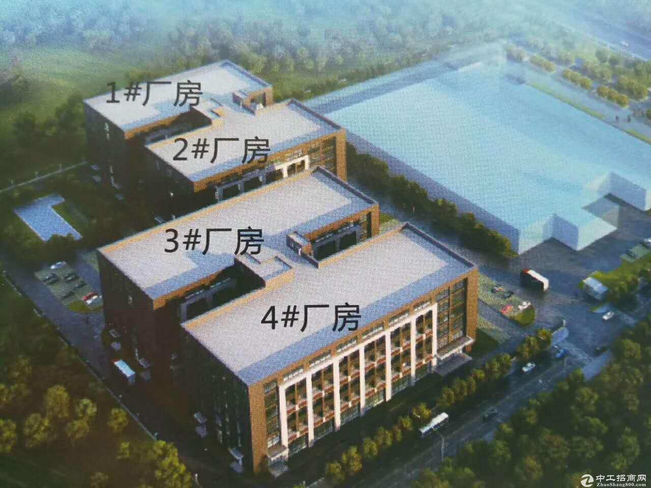 江南金凯工业园食品加工标准厂房900平起售