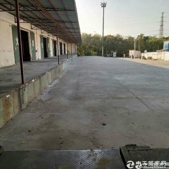 西丽标准物流仓库出租层高12米7800平方带卸货平台