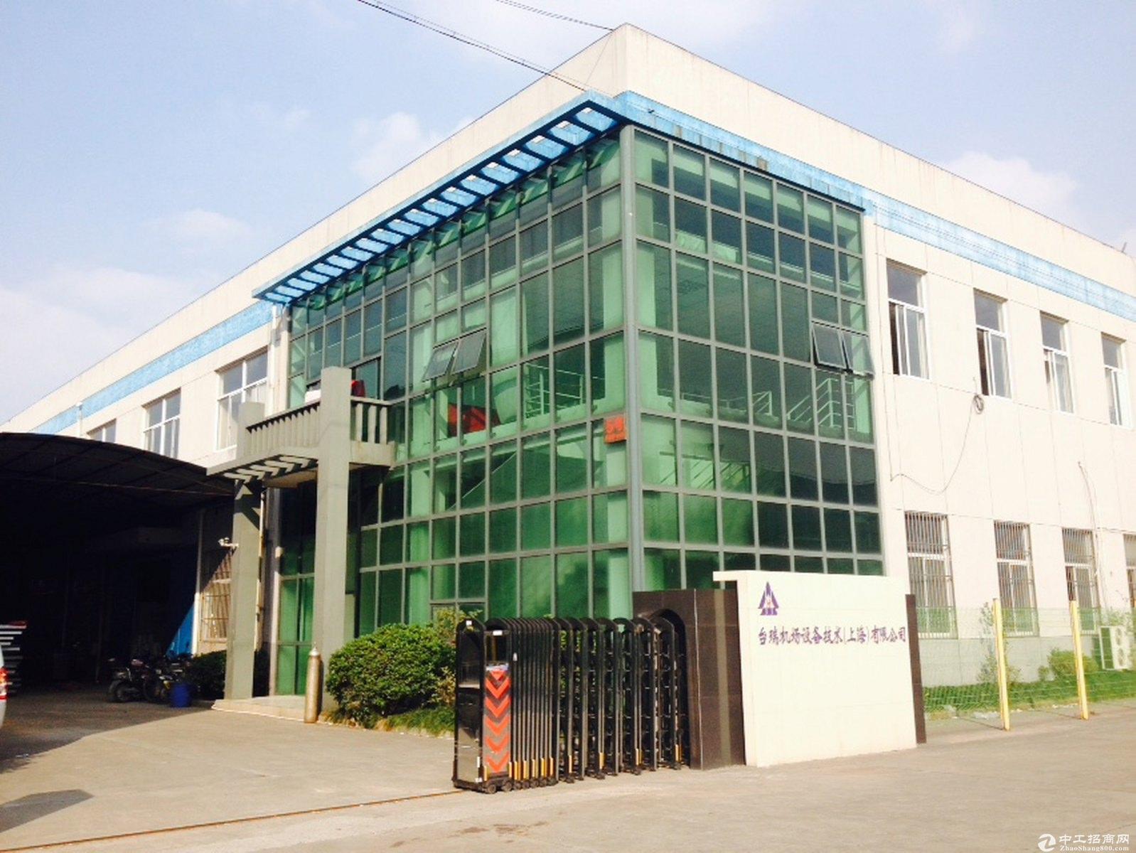 金山化工区独院10亩12米绿证50年小面积化工厂房出售可做化工-图4