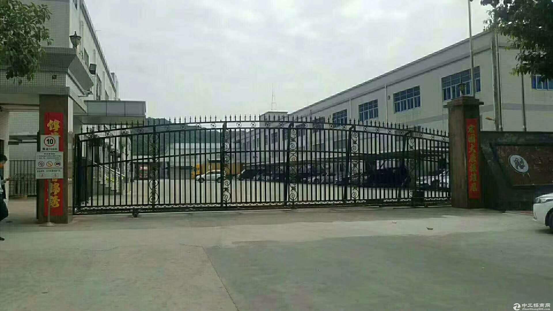 深圳龙岗坪山厂房40000平方业主低价急售有红本无纠纷产权清晰