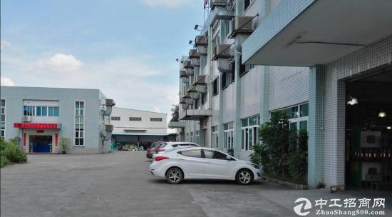 东莞长安土地证房产证双证齐全九成新独院厂房出售