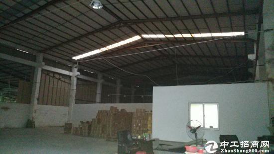 东莞大道附近全新钢构8000平方厂房出租,带牛角