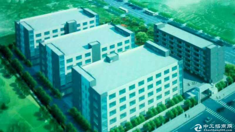 松山湖新出三栋四层36000平方花园式独院厂房出租可分租