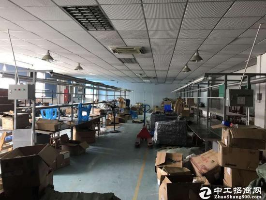 西丽原房东厂房带装修1300平米可分出租
