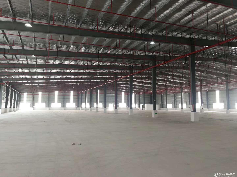 惠州潼湖全新钢构厂房22500平米招租,可分租