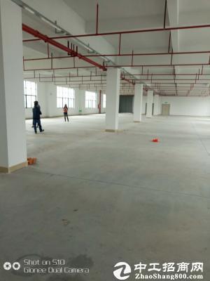 赤岭村莞太路边标准厂房二楼整层1830平优惠招租