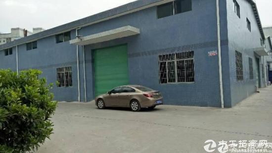 厚街村3200平米独栋钢构厂房招租,电350KVA
