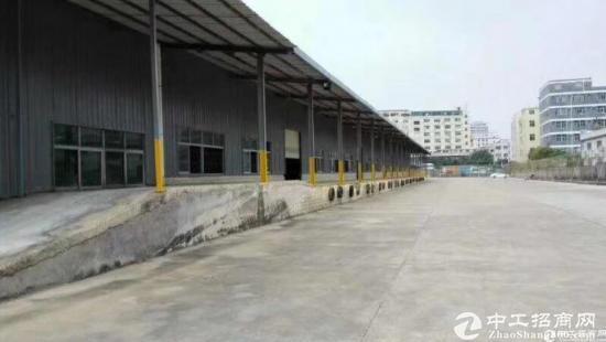 南山西丽新出钢构1900平米厂房仓库可分租