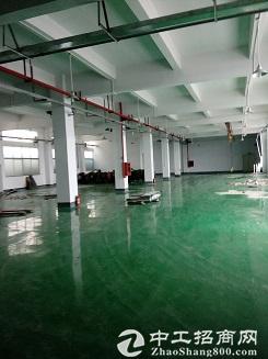 松岗车站附近新出楼上厂房501平方带装修原房东17元招租