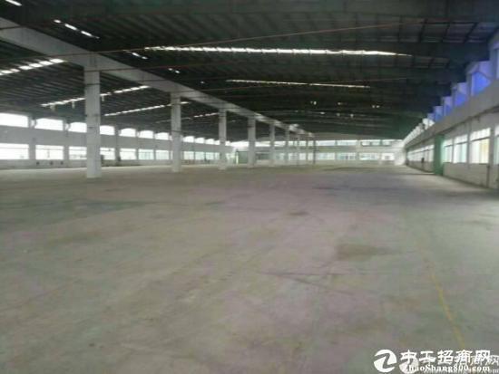 东莞厚街新出6800平钢构仓库招租,整租17,分租面谈