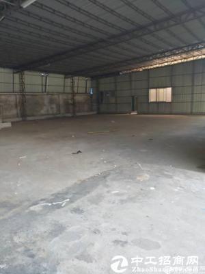 厚街镇黑山工业区附近实业客转租一层厂房5000平,可以转合同10年