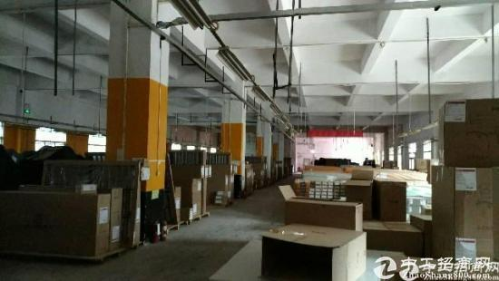 精品独院超靓厂房出租,一楼有960平可实量面积厂房高6米
