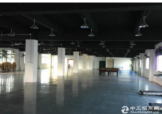 出租) 横岗地铁站花园式厂房1500平米厂房带装修出租