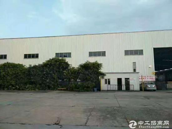 坪地高速路口边钢构厂房600平方出租,滴水7米