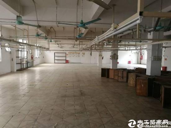 东莞厚街工业园厂房二楼整层780平方现成装修,消防合格