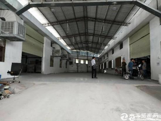 [南城厂房]工业园18块出租单层钢构厂房3300方,可以分租