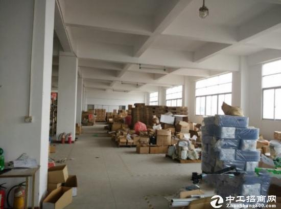龙岗坪山1200平楼上带装修厂房出租有地坪漆可分