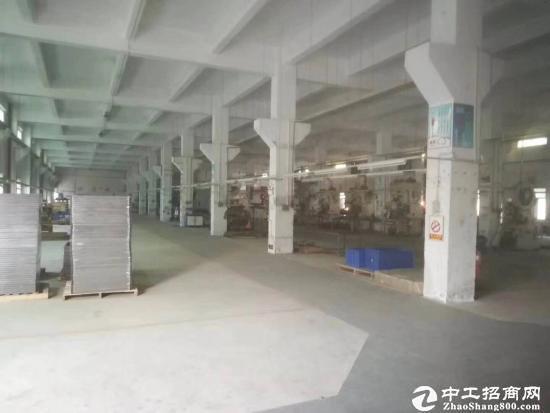 坪山金牛西路边上标准工业区厂房一楼880平方招租
