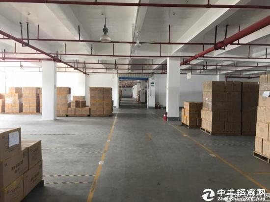 龙岗宝龙大型工业园红本厂房2500平仓库出租 有卸货平台
