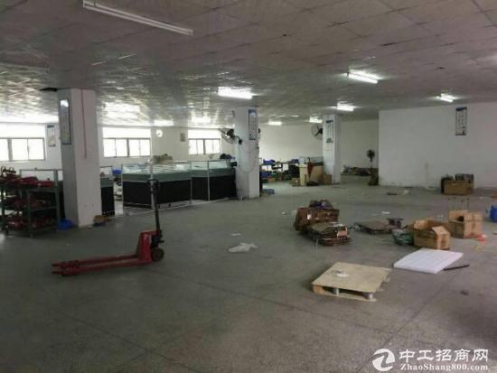 厚街镇原房东工业园B栋厂房二楼出租720平方,现成吊顶装修