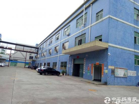 坪山碧玲新出标准一楼850平米 带装修高度5米
