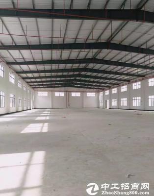 全新钢构厂房3900平方 滴水8米 可任意分租