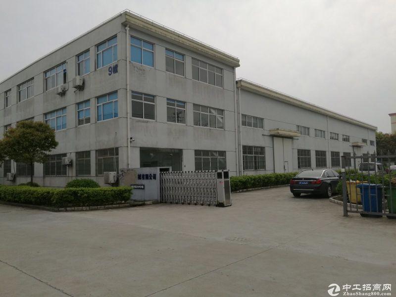 嘉定南翔565平总部生产电梯办公装修绿证50年出售