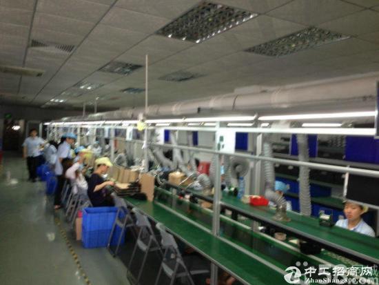 西乡黄田中信宝工业区d栋3楼1550平精装修-图2