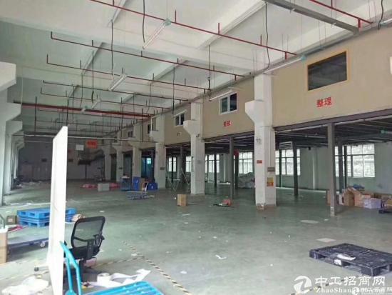 厚街镇独院整栋厂房招租共六层单层1500平,一楼高6.5米带牛角