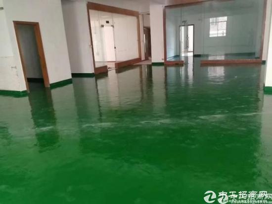 坪山江岭工业区新出红本楼上520平方精装修厂房出租