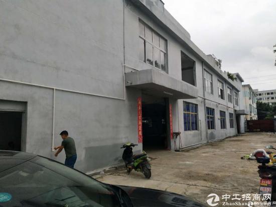 厚街三屯业主便宜出租独院标准两层厂房2200平 仓库600平