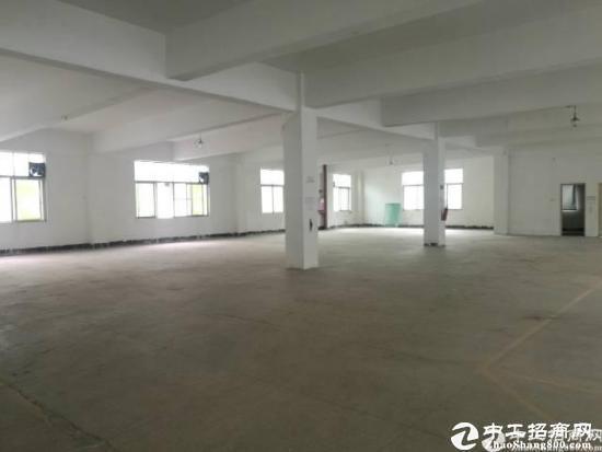 横岗西坑3楼原房东带货梯850平米厂房出租
