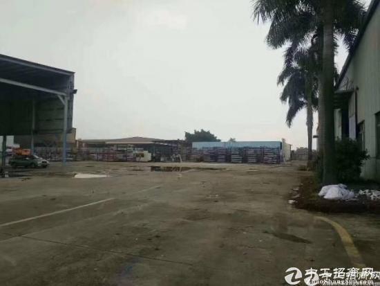 福永原房东独门独院钢构厂房500-20000平米高12米