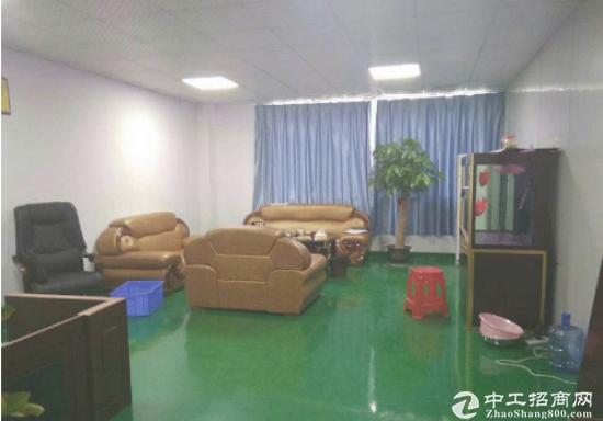 坪山 中心地段 江岭新出楼上带装修500平招租