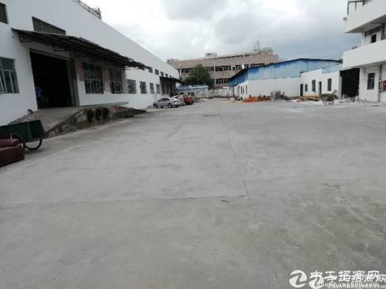 厚街新出独院单一层砖墙到顶滴水7米钢构厂房6200平,带卸货平台