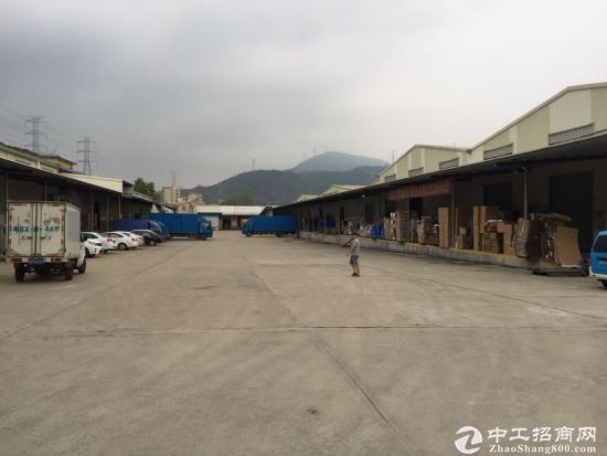 横岗稀有物流仓库 1.2万平 超大空地