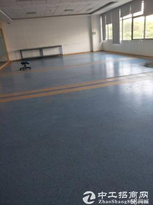 龙岗新出楼上2000平标准厂房带电梯消防精装修