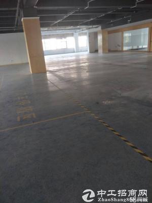 龙岗新出楼上2000平标准厂房带电梯消防精装修-图4