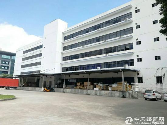 龙岗新出楼上2000平标准厂房带电梯消防精装修-图5