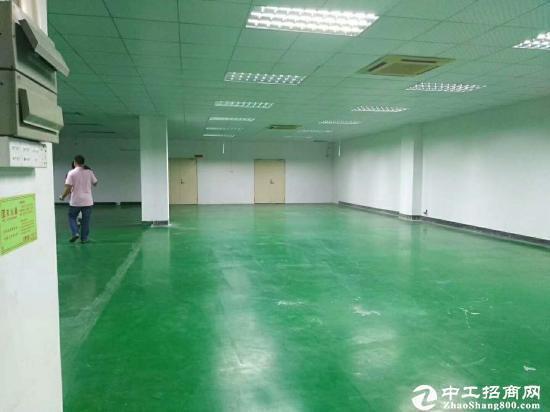 平湖富民工业区楼上带装修厂房1000平 急租