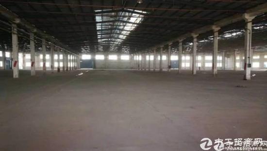 46800平米物流仓库出租,滴水8米有卸货平台带
