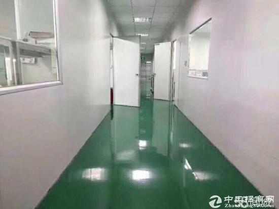 横岗安良标准二楼厂房850平招租(带装修)